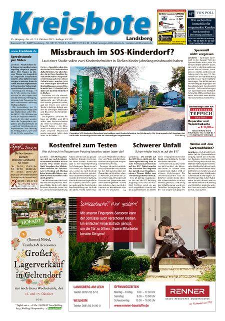 Kreisbote Landsberg vom 13.10.2021