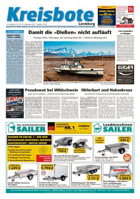 Kreisbote Landsberg vom 22.09.2021