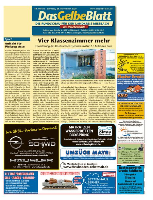 Rundschau Miesbach Wochenende vom 28.11.2020