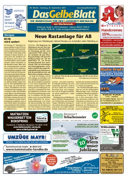 Rundschau Miesbach Wochenende vom 25.09.2021