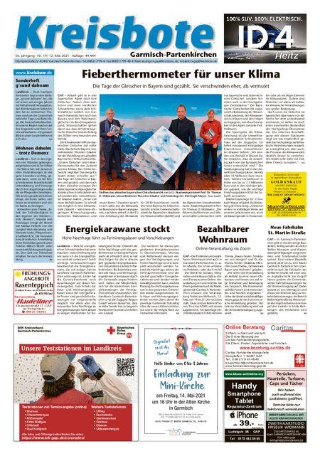 Kreisbote Garmisch-Part. vom 12.05.2021