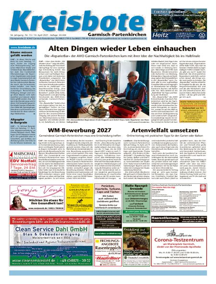 Kreisbote Garmisch-Part. vom 14.04.2021