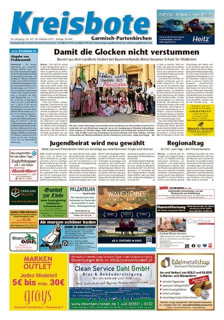 Kreisbote Garmisch-Part. vom 20.10.2021