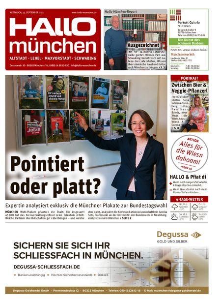 Hallo München Mitte vom 15.09.2021