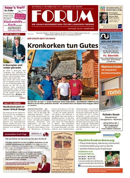 Forum Freising vom 06.10.2021