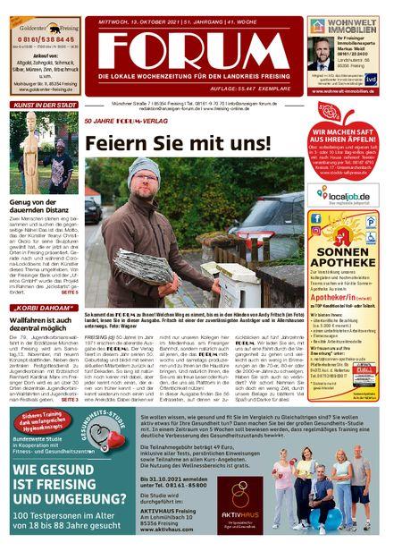 Forum Freising vom 13.10.2021