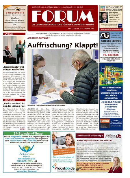 Forum Freising vom 20.10.2021