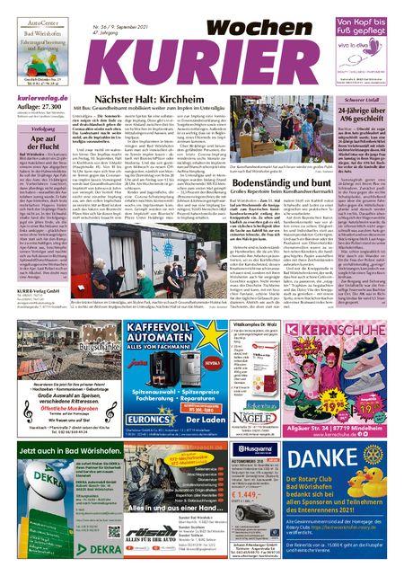 Mindelheim Wochenkurier vom 09.09.2021