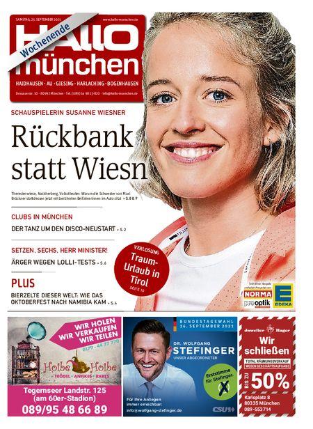 Hallo München Südost Wochenende vom 25.09.2021