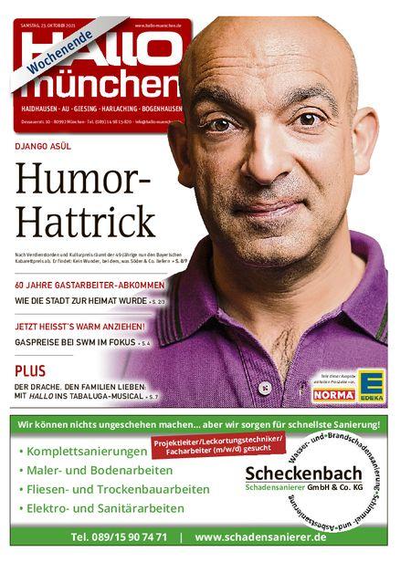 Hallo München Südost Wochenende vom 23.10.2021