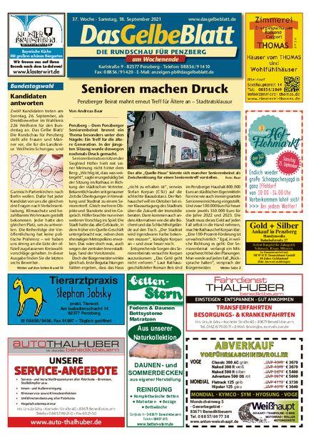 Rundschau Penzberg Wochenende