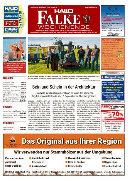 Markt Schwabener Falke Wochenende vom 04.09.2021