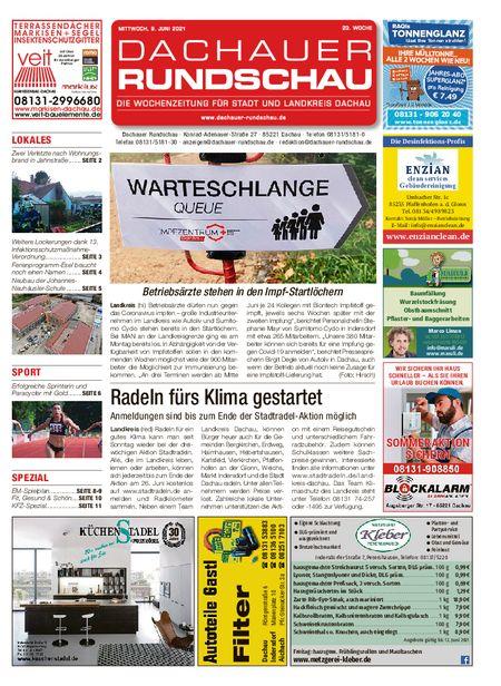 Dachauer Rundschau vom 09.06.2021