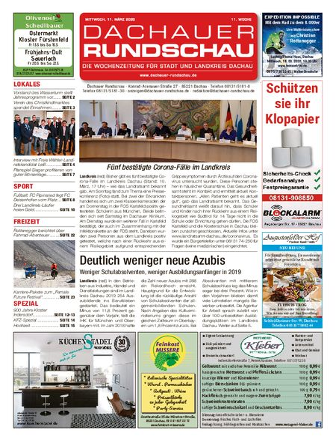 Dachauer Rundschau vom 11.03.2020