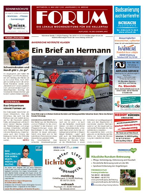 Forum Hallertau vom 05.05.2021