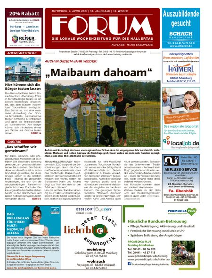 Forum Hallertau vom 07.04.2021