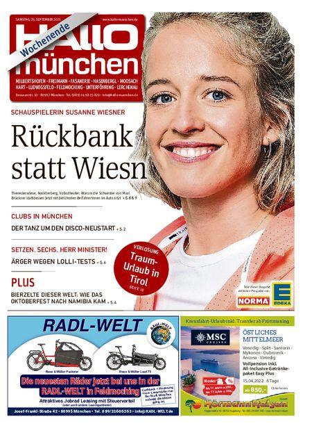 Hallo München Nord Wochenende vom 25.09.2021