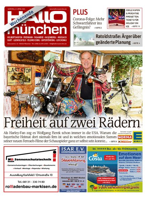 Hallo München Nord Wochenende vom 17.04.2021