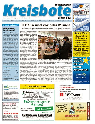 Kreisbote Schongau Wochenende vom 16.01.2021