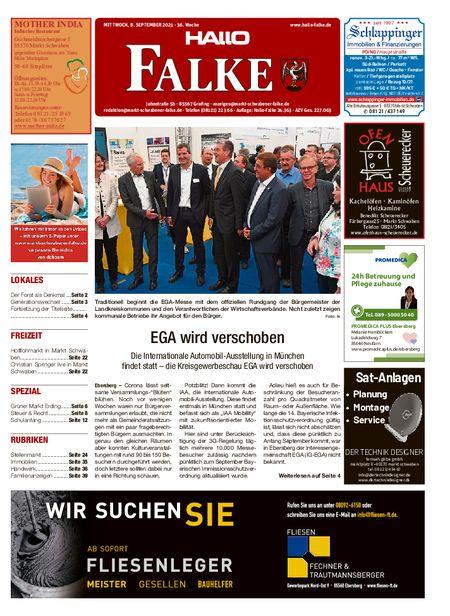 Markt Schwabener Falke vom 08.09.2021