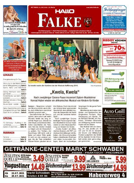 Markt Schwabener Falke vom 21.07.2021
