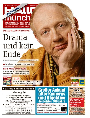 Hallo München Südwest Wochenende vom 28.11.2020
