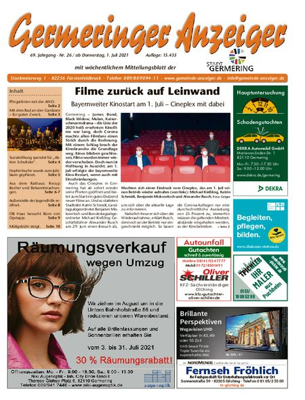 Germeringer Anzeiger vom 03.07.2021