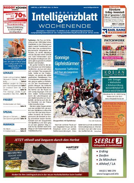 Intelligenzblatt Dorfen Wochenende vom 04.09.2021