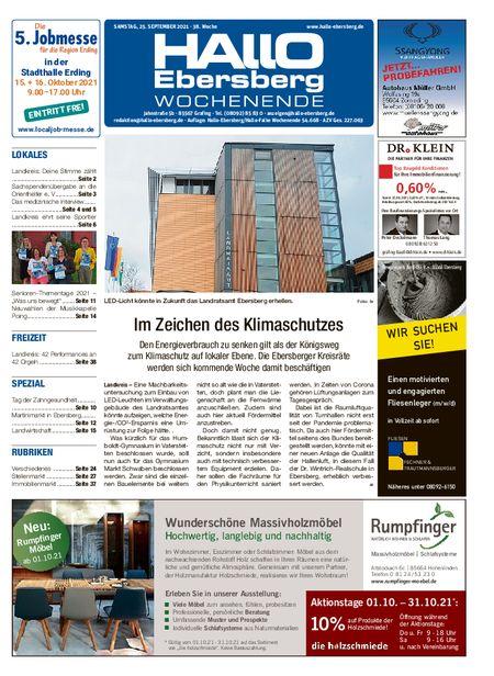 Hallo Ebersberg Wochenende vom 25.09.2021