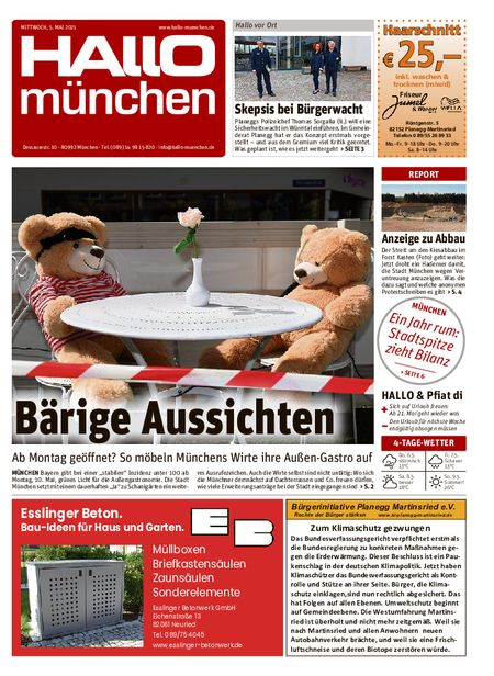 Hallo München Süd vom 05.05.2021
