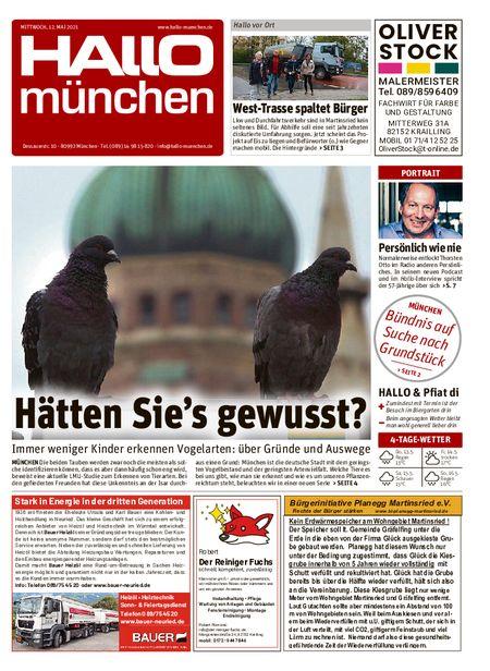 Hallo München Süd vom 12.05.2021