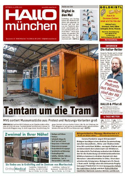 Hallo München Süd vom 14.04.2021