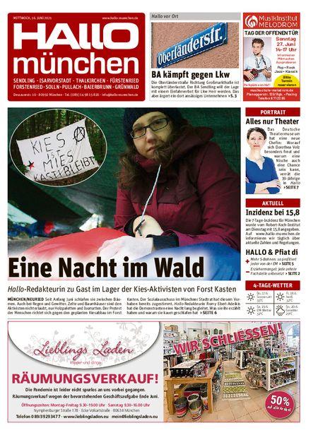 Hallo München Süd vom 16.06.2021