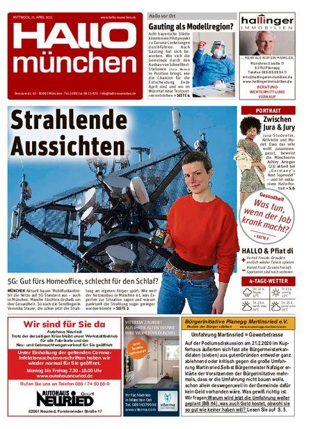 Hallo München Süd vom 21.04.2021