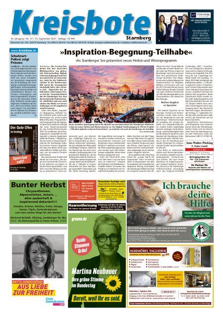 Kreisbote Starnberg vom 15.09.2021