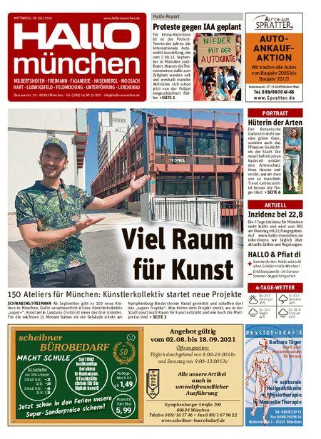 Hallo München Nord vom 28.07.2021