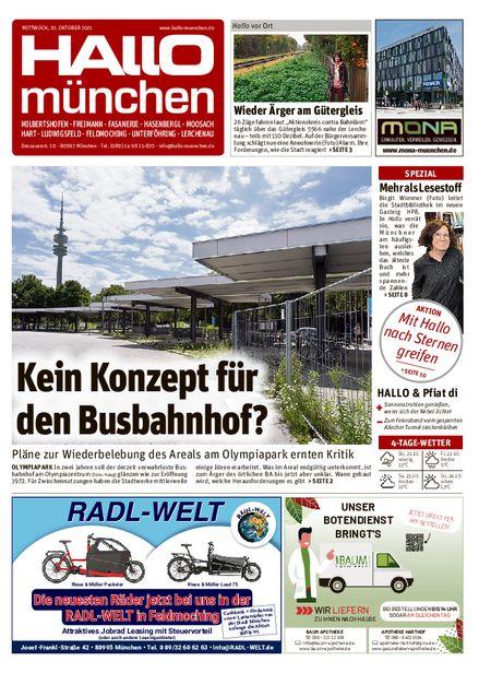 Hallo München Nord vom 20.10.2021