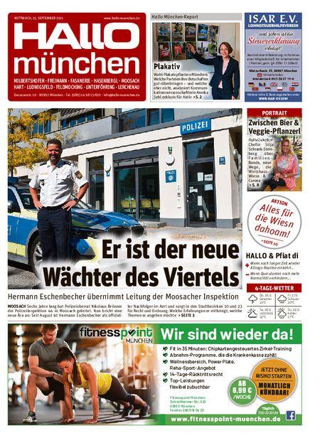 Hallo München Nord vom 15.09.2021