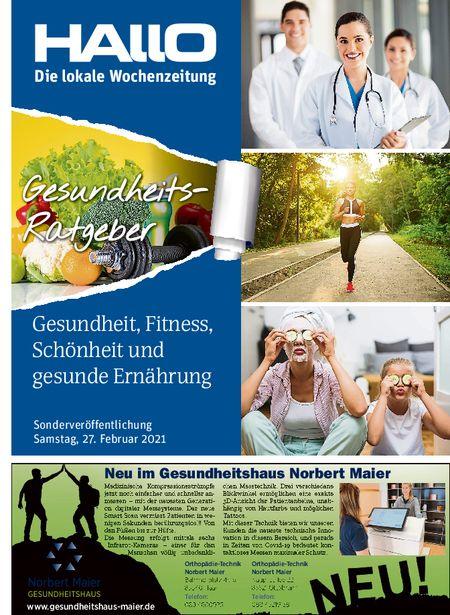 Hallo Verlag Gesundheitsratgeber Februar 2021