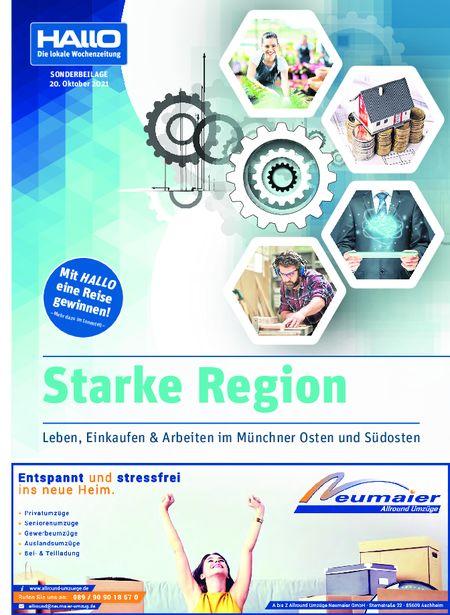 Hallo Verlag Wirtschaftsbeilage Oktober  2021