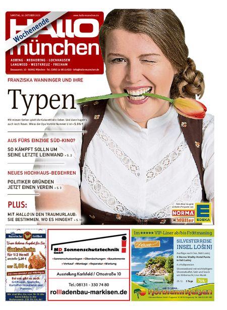 Hallo München Aubing Wochenende vom 16.10.2021