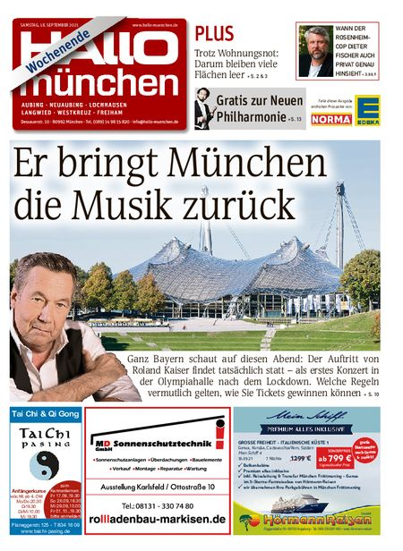 Hallo München Aubing Wochenende vom 18.09.2021
