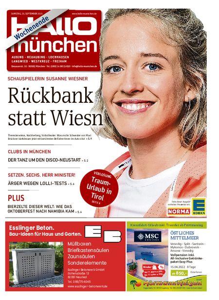 Hallo München Aubing Wochenende vom 25.09.2021