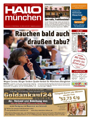 Hallo München Südwest vom 26.08.2020