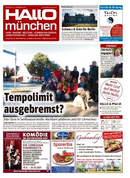 Hallo München Südwest vom 29.09.2021