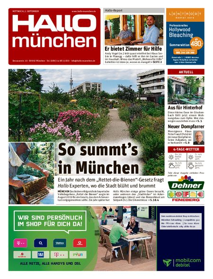 Hallo München Südwest vom 02.09.2020