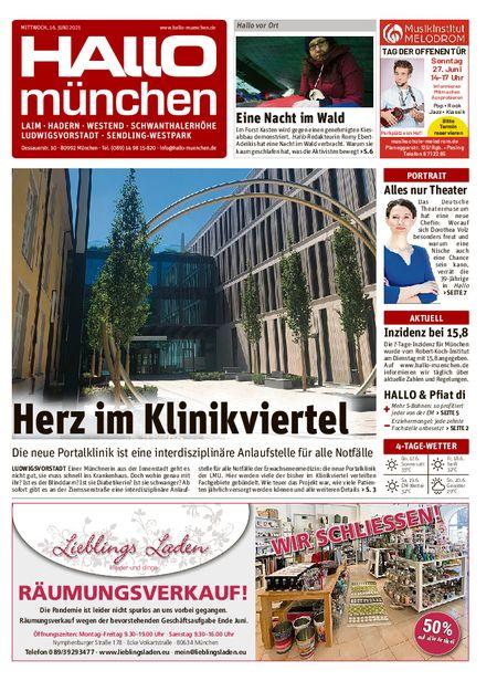 Hallo München Südwest vom 16.06.2021