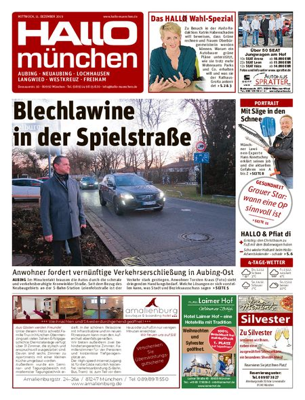 Hallo München Aubing vom 11.12.2019