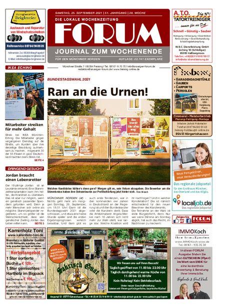 Forum München Nord Wochenende vom 25.09.2021