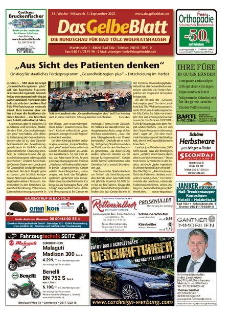Rundschau Bad Tölz/Wolfratshausen vom 01.09.2021